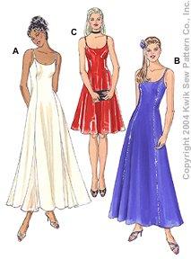 tyg för balklänning